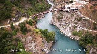 Extreme Bungy Jumping with Cliff Jump Shenanigans! Play On in New Zealand