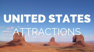 10 Top Tourist Attractions in the USA - Travel Video