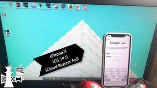 iOS 14.8 iPhone X iCloud Bypass With SIM Working Untethered