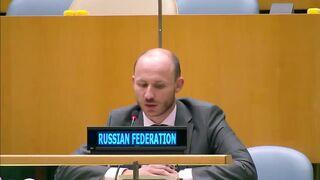 Посол России РАЗНОСИТ делегацию Украины в ООН!