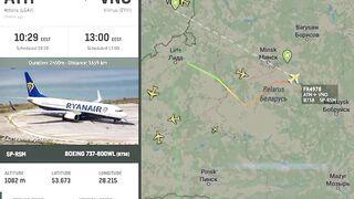 В Минске сняли с самолета и задержали основателя NEXTA