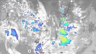 Буря конца света обрушивается на Австралию!  Невероятный град обрушился