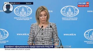 Срочно! Захарова РАЗМАЗАЛА заявления главы блока НАТО!