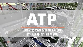 Mutrade Automated Vertical Parking System Project in Costa Rica