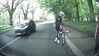 Biker vs Parked Car - My First Driving Lesson