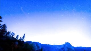 Time Lapse of the Pre-Dawn above Half Dome in Yosemite National Park