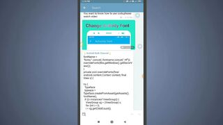 How To Change Activity Text Font In SketchWare _Hindi_ AndroidBulb